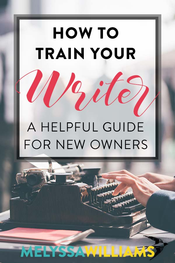 Are you the proud owner of a writer? Then you will appreciate this helpful guide