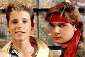The Two Coreys, from the Lost Boys