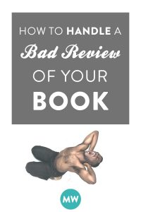 How to Handle a Bad Review for Your Book Like a Real Author