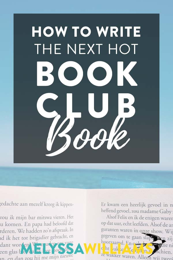 How to write a book club pick