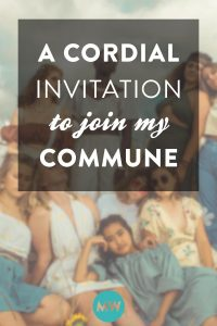 The 10 Rules for My Commune, and a Cordial Invitation to Join