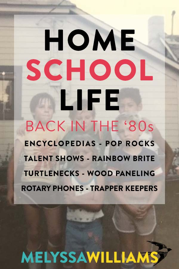 Homeschooling in the '80s