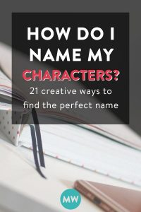 How Do I Name My Characters?
