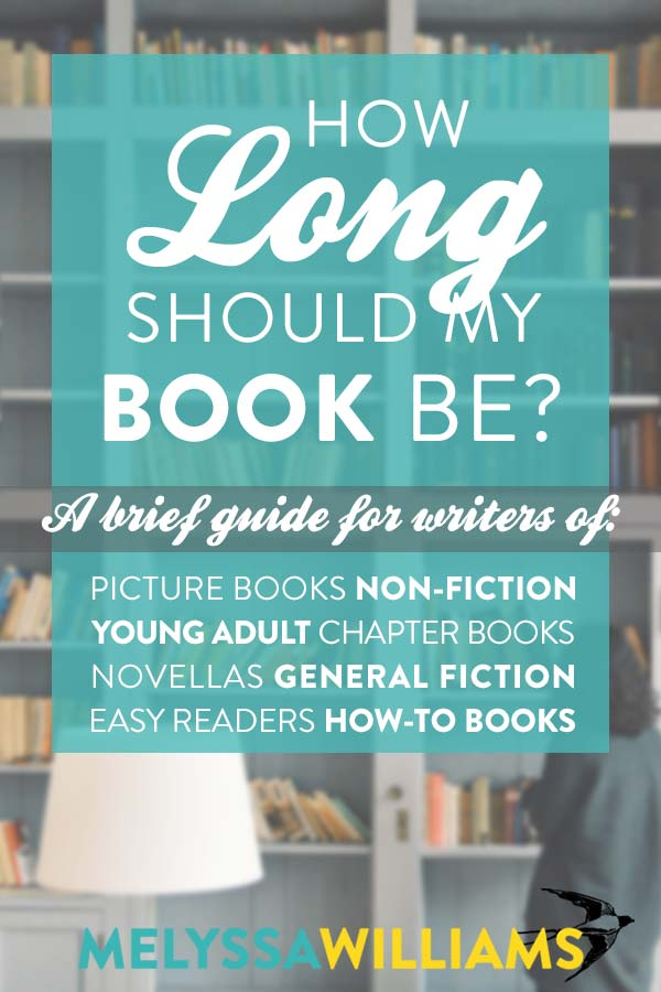 A brief guide for authors about book length