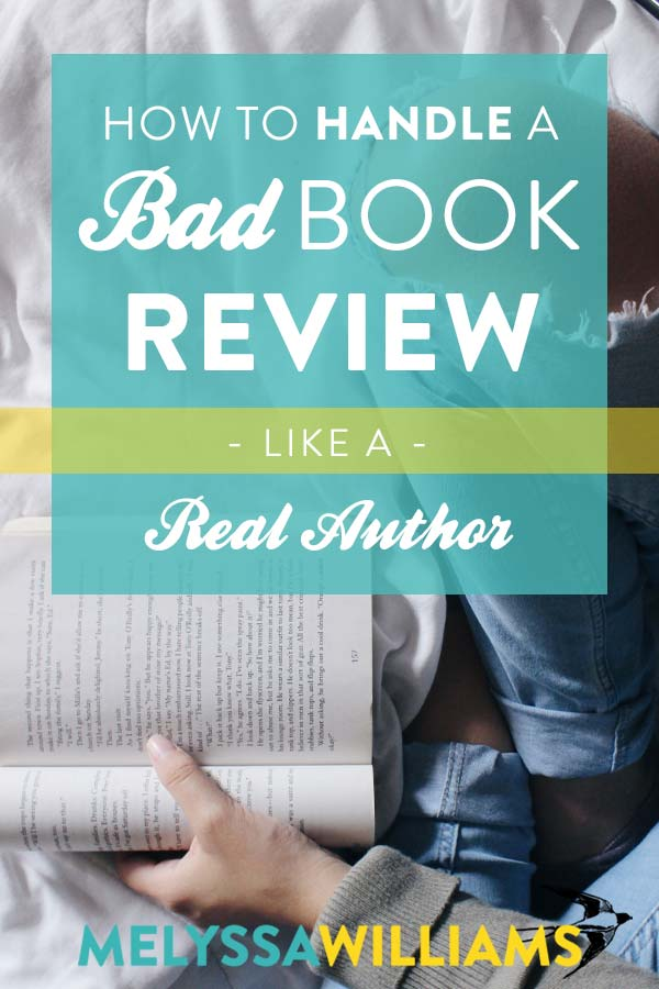How to handle negative reviews of your book
