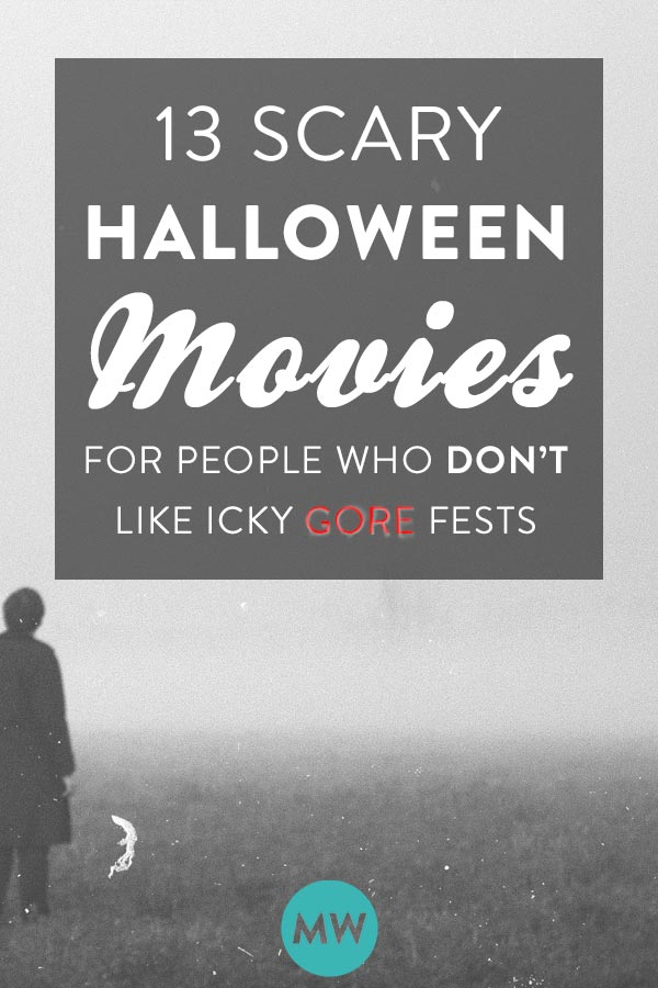 Creepy Halloween Movies for people who don't want too much gore