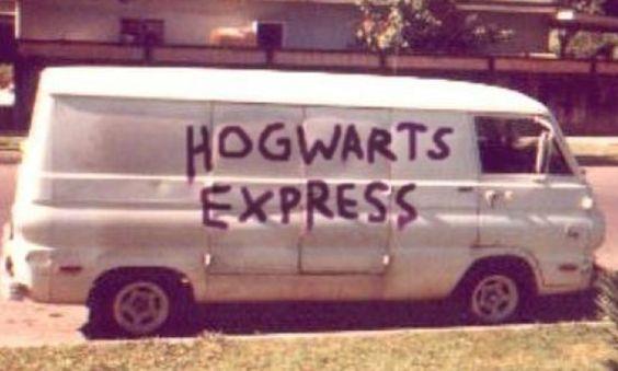 Creepy Hogwarts Express Van