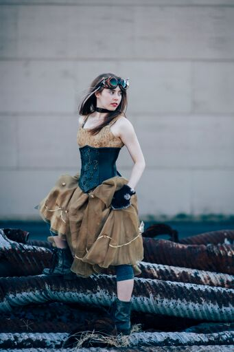 Steampunk Book Cover - Photo Session