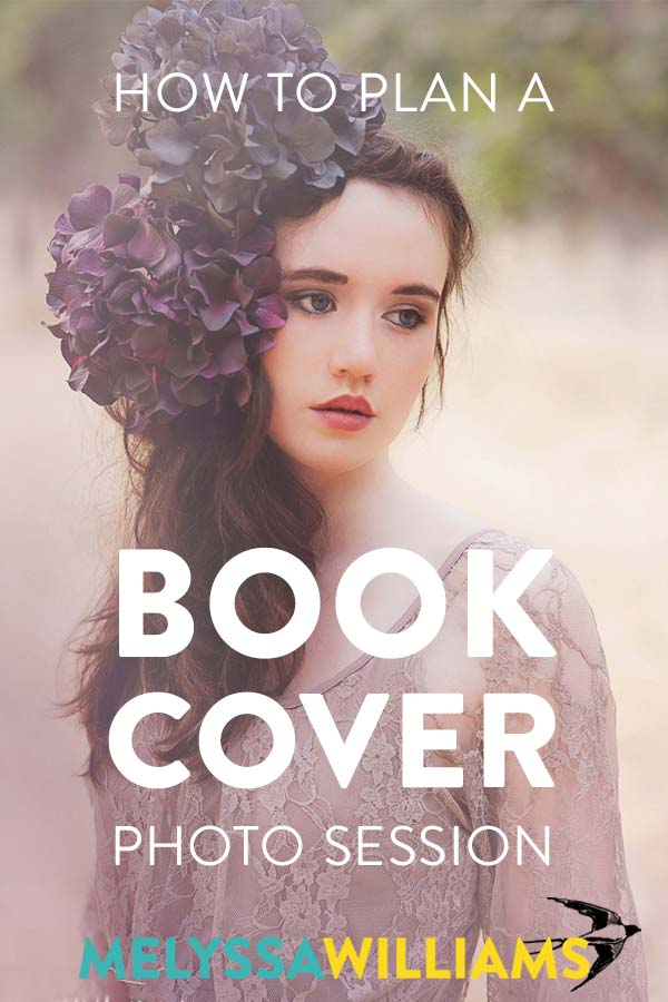 How to do a photo session for your book cover art