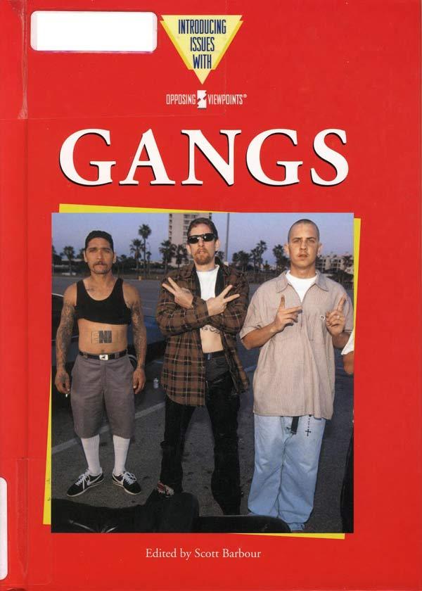 Terrible book covers: GANGS