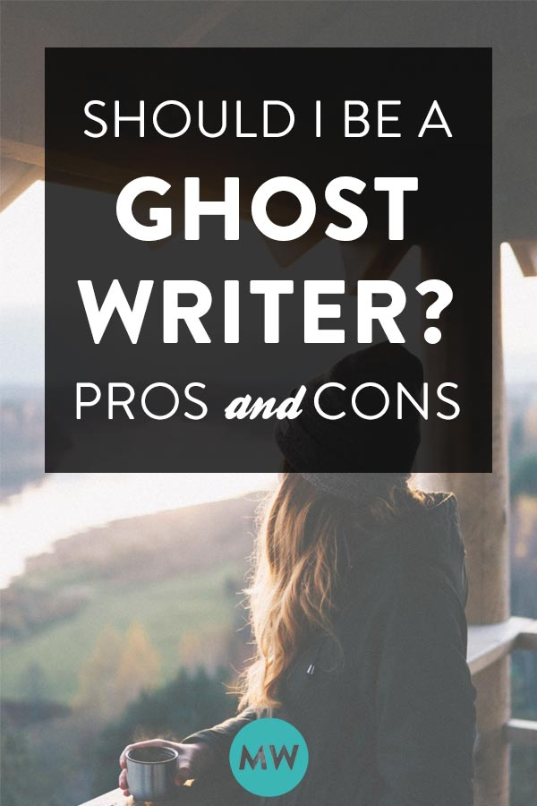 Pros and cons of the ghostwriting profession