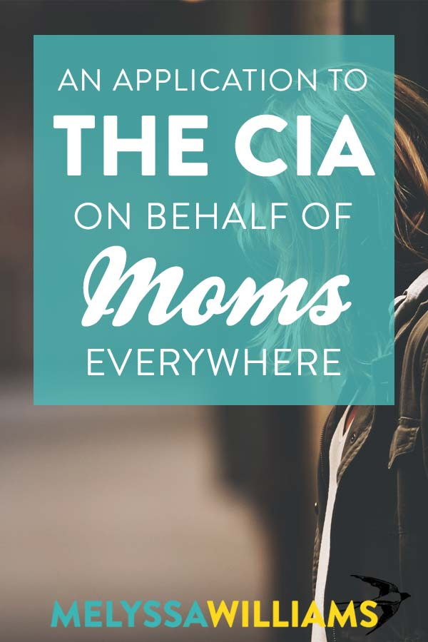 Why Moms Make the Best Spies