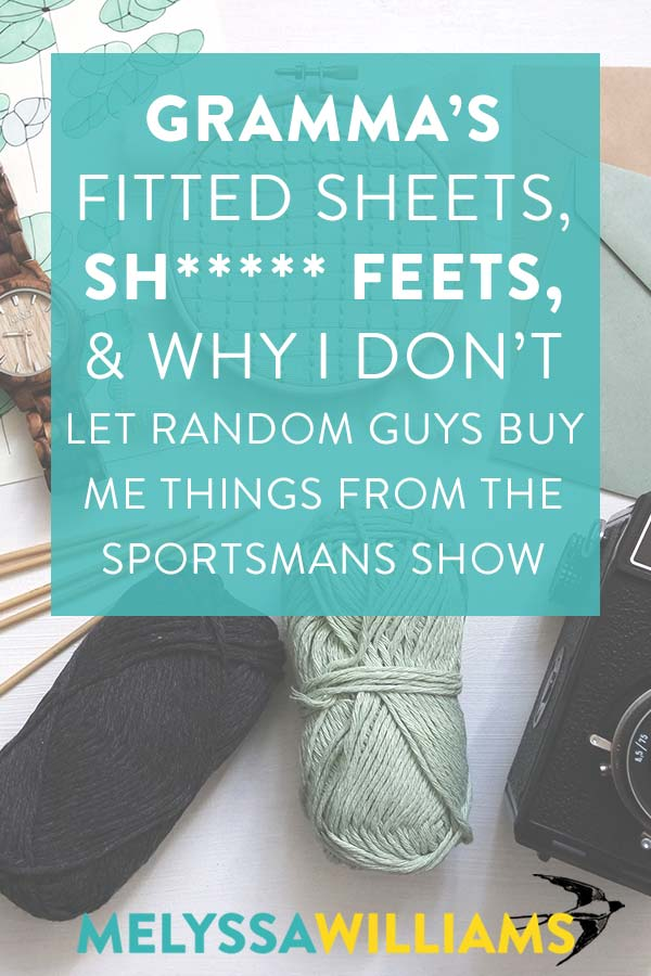 Why I don't let guys buy me stuff from the sportsman's show