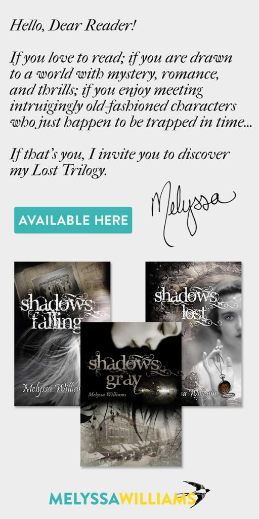 Shadows Gray by Melyssa Williams