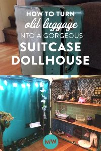 How to Make a Suitcase Dollhouse from Vintage Luggage