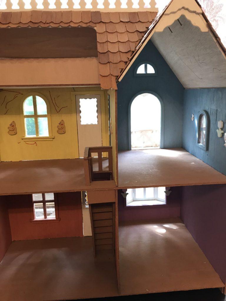 Original Interior of the Dollhouse