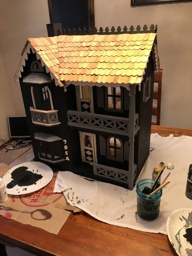 Haunted Dollhouse DIY
