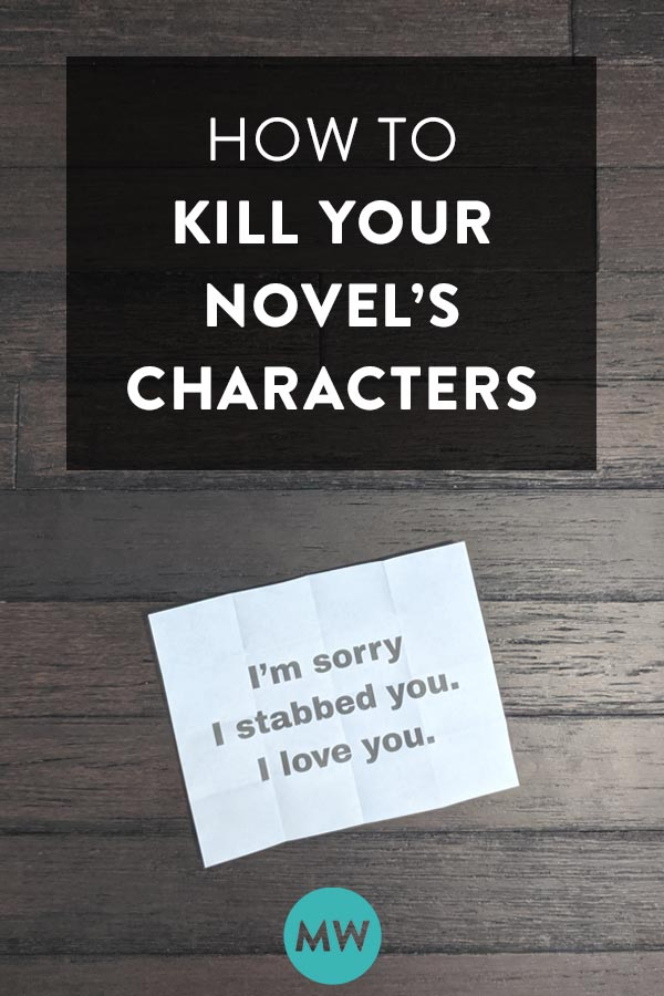 How to Kill Your Novel's Characters