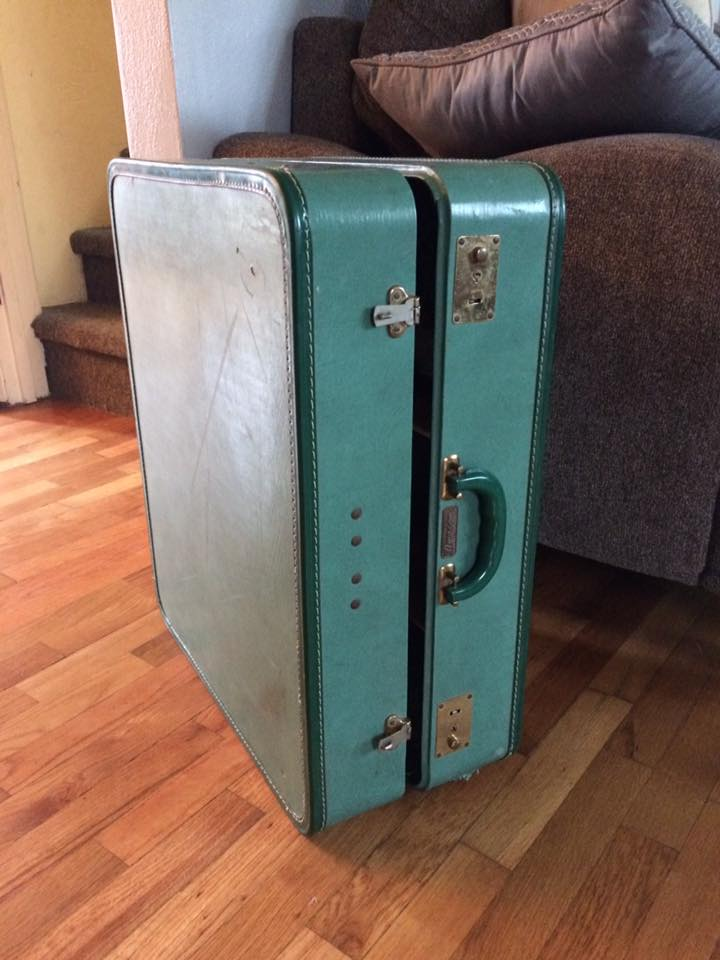 Old Suitcase Turned Into Dollhouse