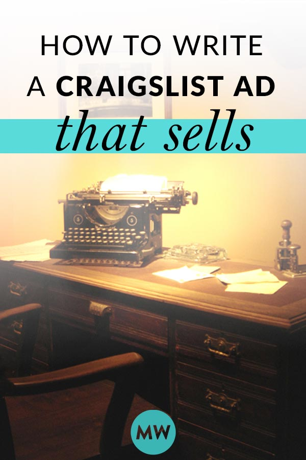 Craigslist Ad Writing Tips