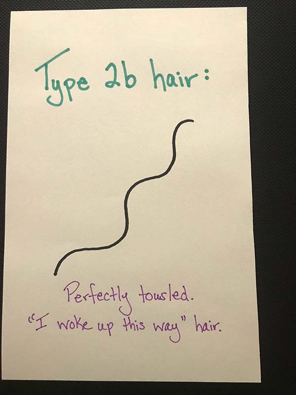 Curly Hair Types Explained: Type 2B Hair