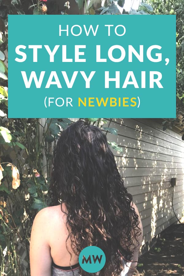 How to Style Long Wavy Hair