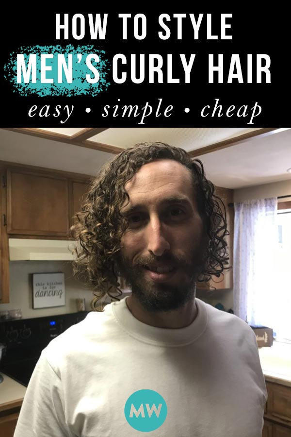 How to Style Curly Men's Hair